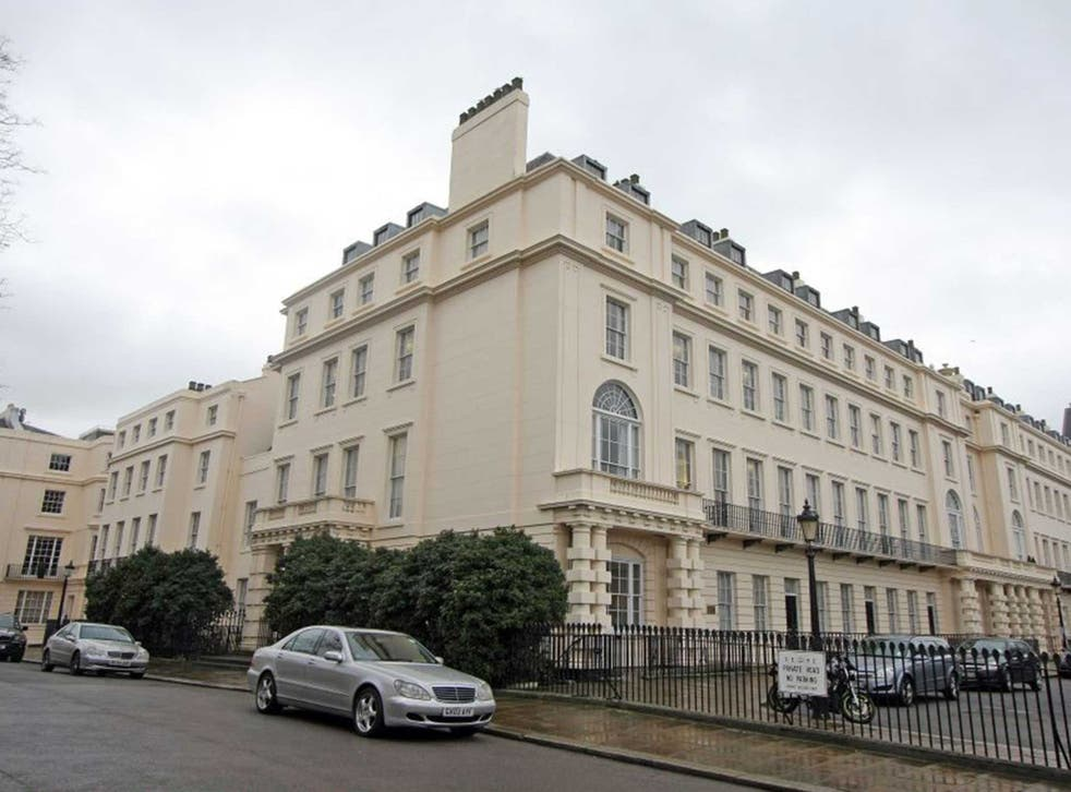 A Regent's Park mansion on Chester Gate, which is one of London's most expensive properties