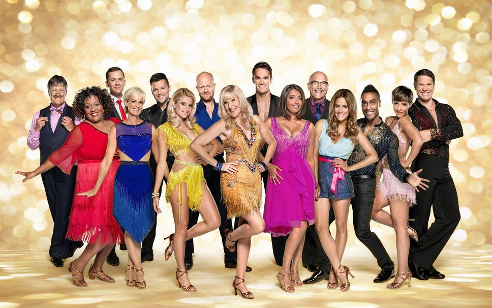 This Years Celebrity Contestants Prepare To Hit The Strictly Come Dancing Ballroom