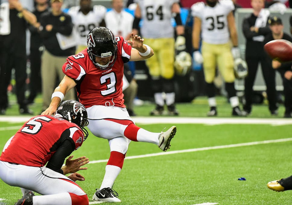 fdd9bd921 Matt Bryant kicked an overtime field-goal to see the Atlanta Falcons defeat  the New