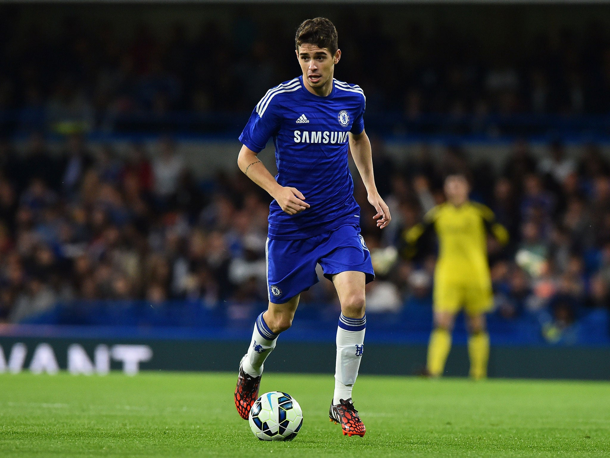 Oscar: 'I never quit and I get very angry with myself if ...