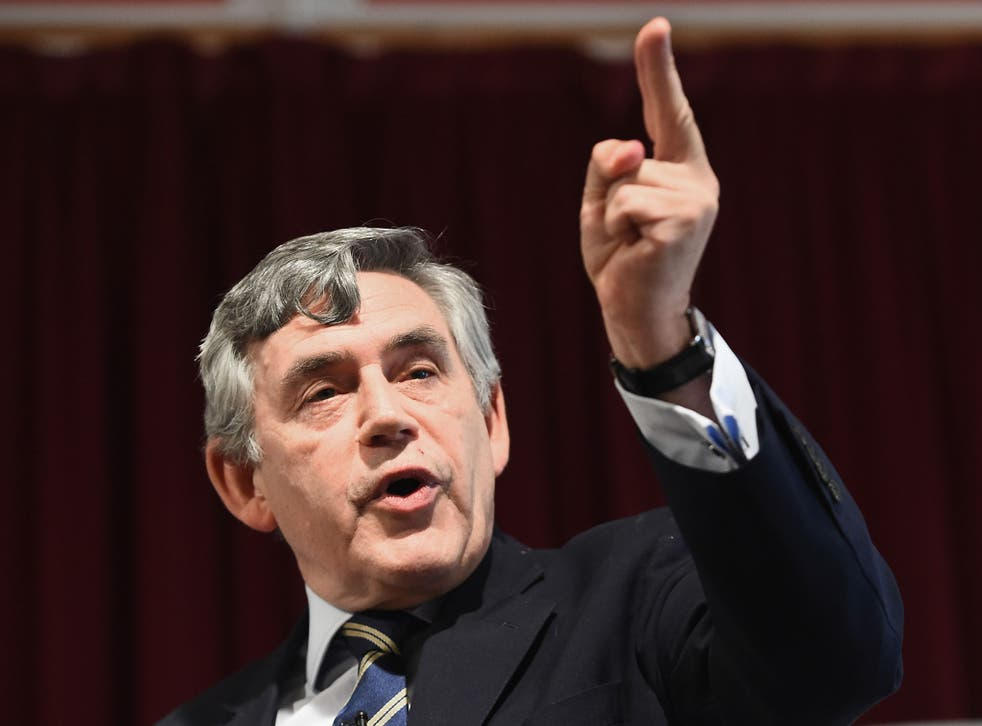 Former Prime Minister Gordon Brown has announced plans for devolving more powers to Scotland.