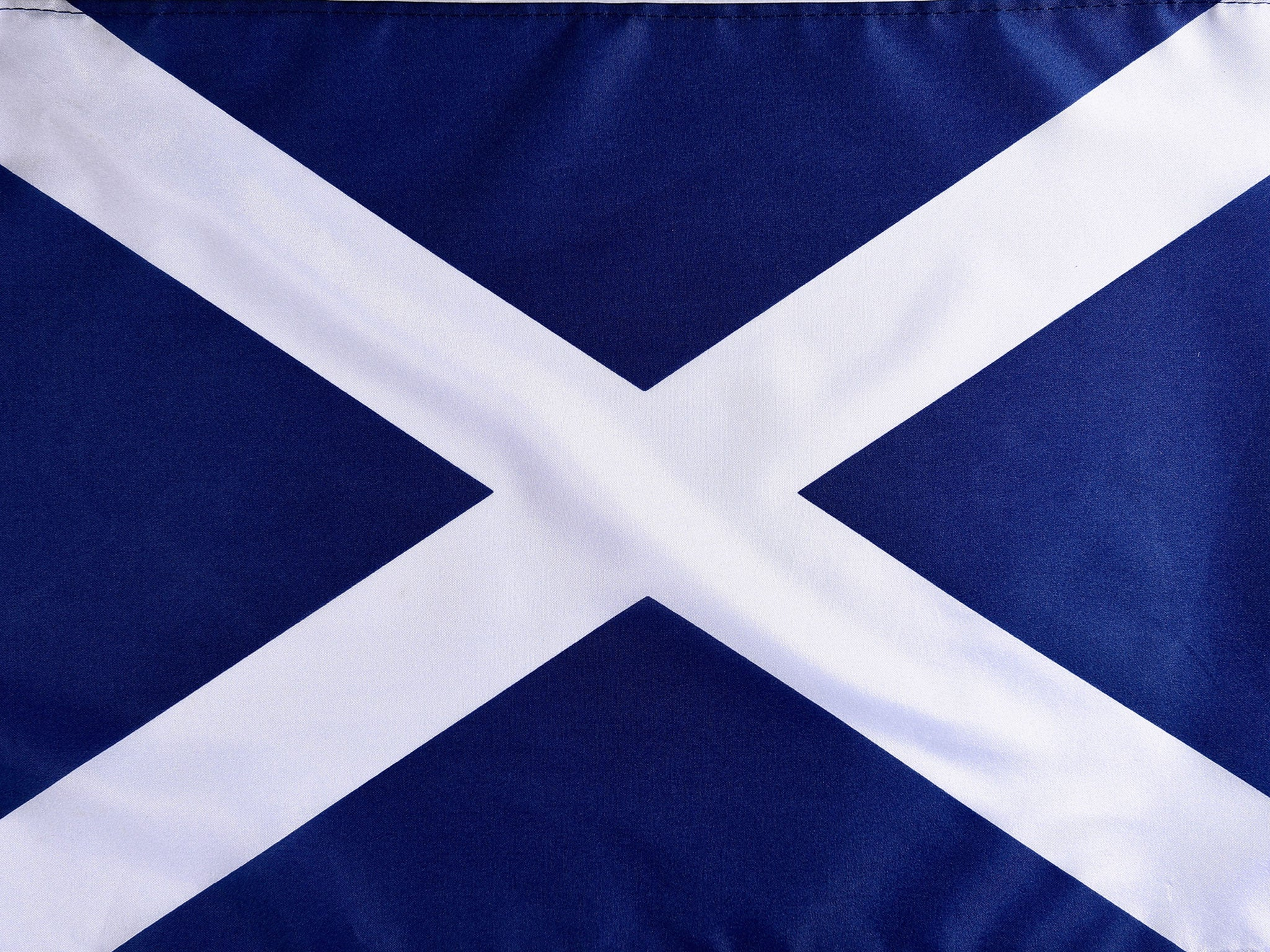 Scottish Independence What Does The Saltire Flag Symbolise The Independent