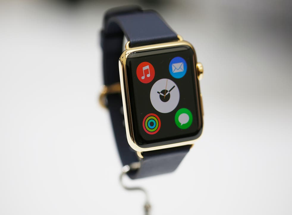 One of the Apple Watch designs unveiled by CEO Tim Cook yesterday