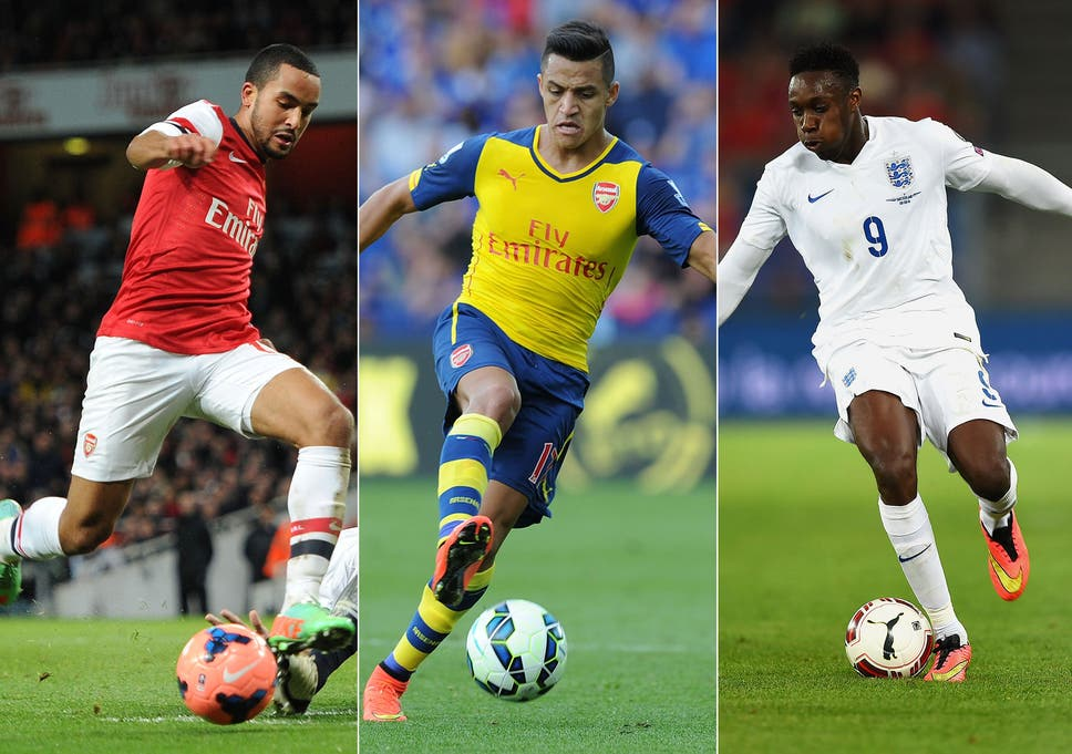 fd14febed7b801 Theo Walcott  With Alexis Sanchez and Danny Welbeck