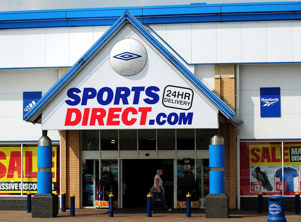 Sports Direct said the guard was employed through a security company and that he was fired shortly after the incident took place
