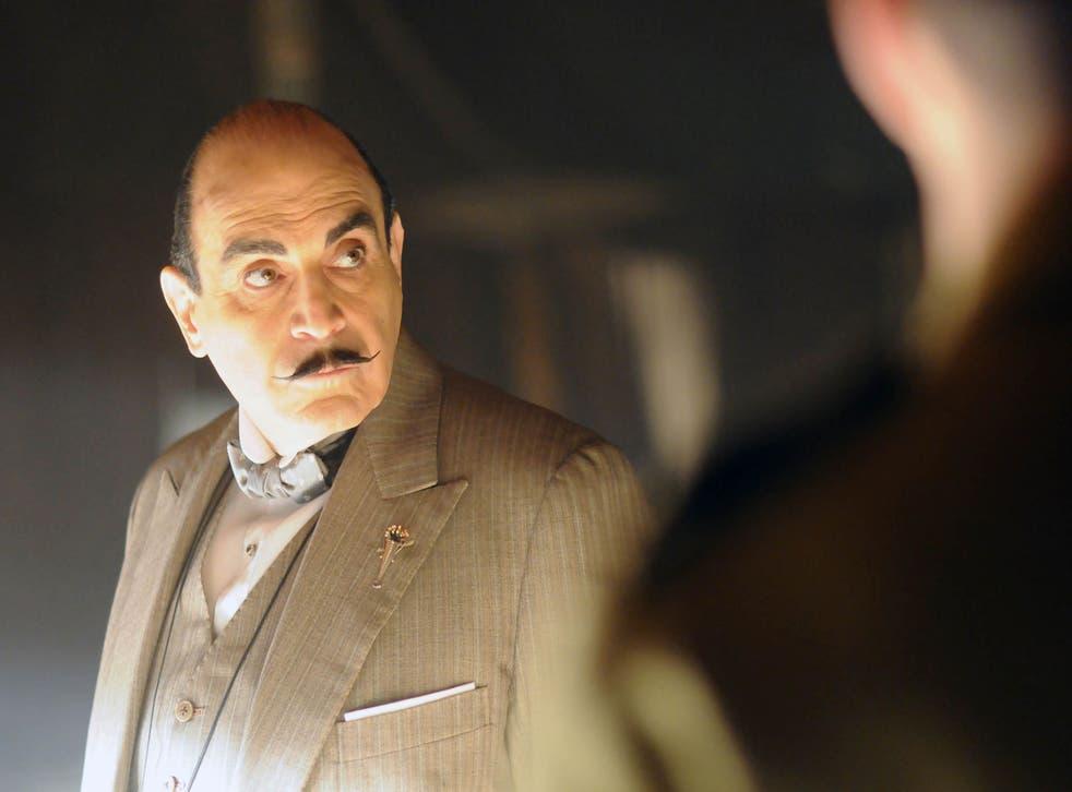 Deft reincarnation: Hercule Poirot, as we know him