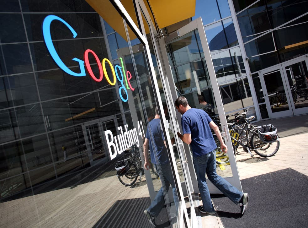 The world's lodestar: Google headquarters in Mount View, California