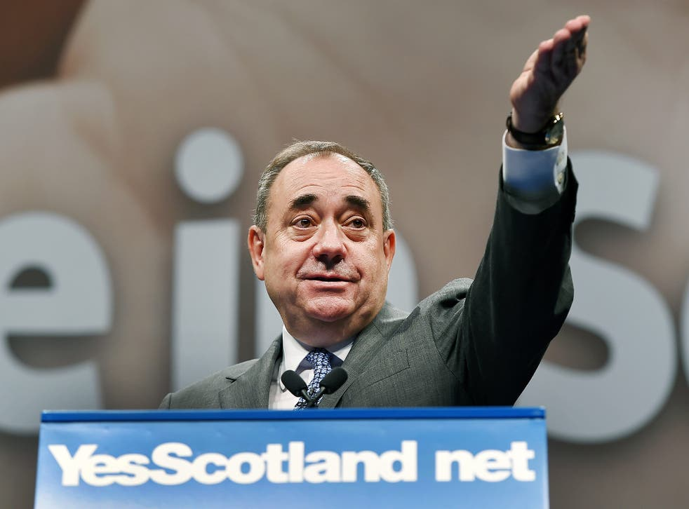 Alex Salmond and the nationalists reject claims that Scotland's economy would suffer if the UK broke up
