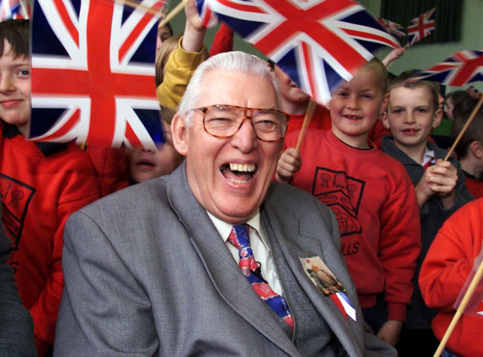 Fiery Protestant leader Ian Paisley in 1999