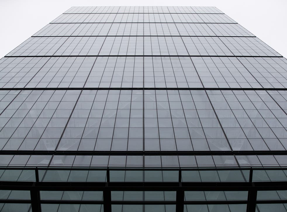 The exterior of the newly constructed skyscraper, The Leadenhall Building in London