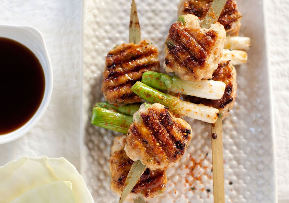 Bill Granger Recipe Minced Chicken Yakitori The Independent