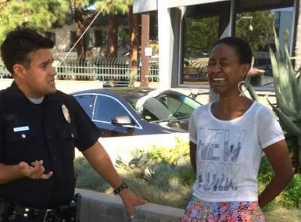 Actress Daniele Watts was detained by LAPD after being mistaken for a prostitute
