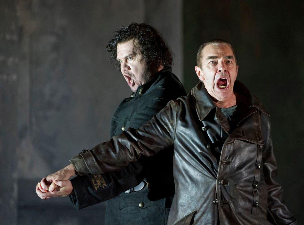 Stuart Skelton and Jonathan Summers star in 'Otello'