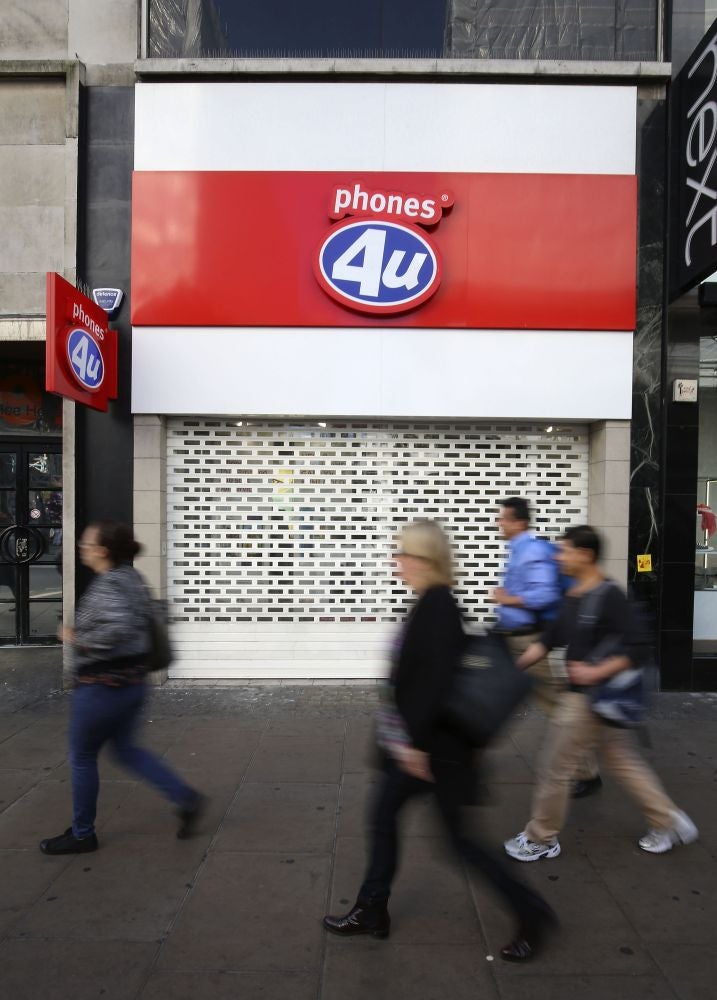 Phones 4U goes into administration: Why its suppliers hung