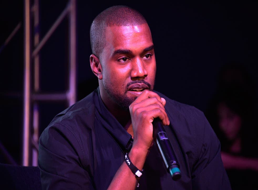 Singer, rapper and self-professed 'Yeezus', Kanye West