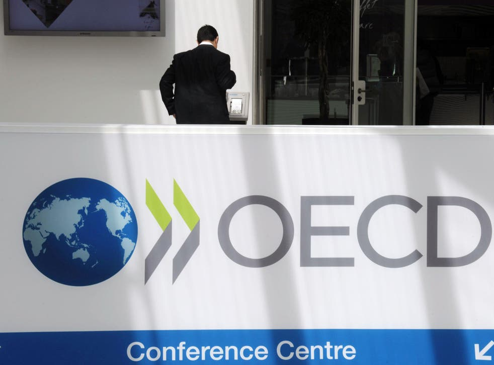 The OECD said Brexit would have a less severe impact on the British economy than it previously anticipated