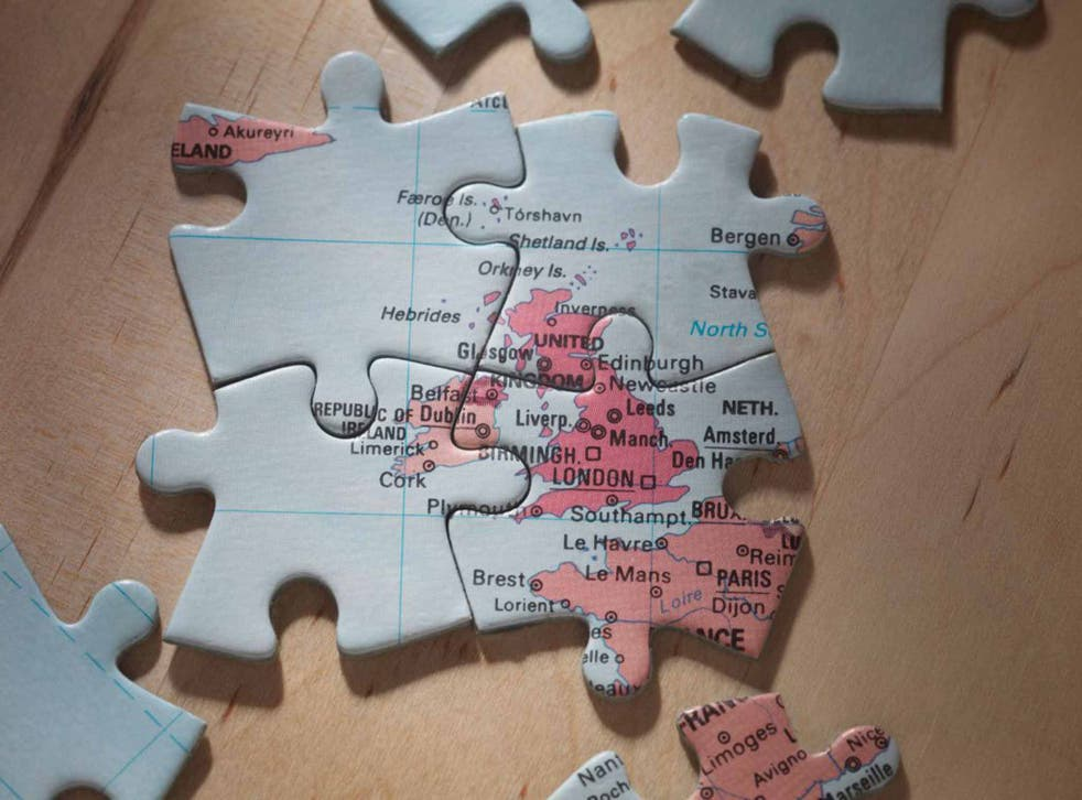 Nationalist jigsaw: England will remain the dominant power of these islands, both in economic terms and population, for the foreseeable future (Alamy)