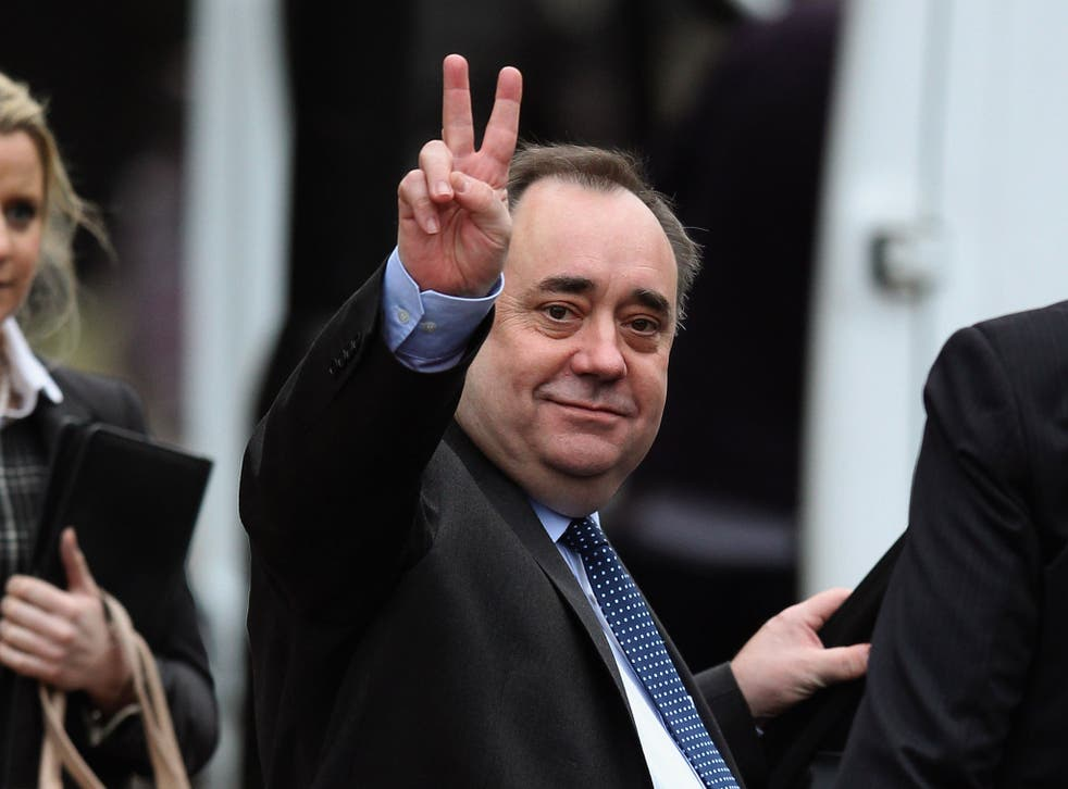 On the last day of campaigning before the polling booths open, the SNP leader has written to voters in a final attempt to convince them to vote for independence