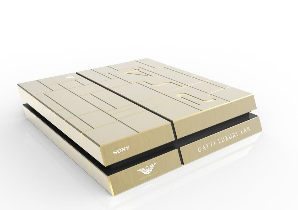 Gold-plated PS4 and Xbox One consoles go on sale in Dubai