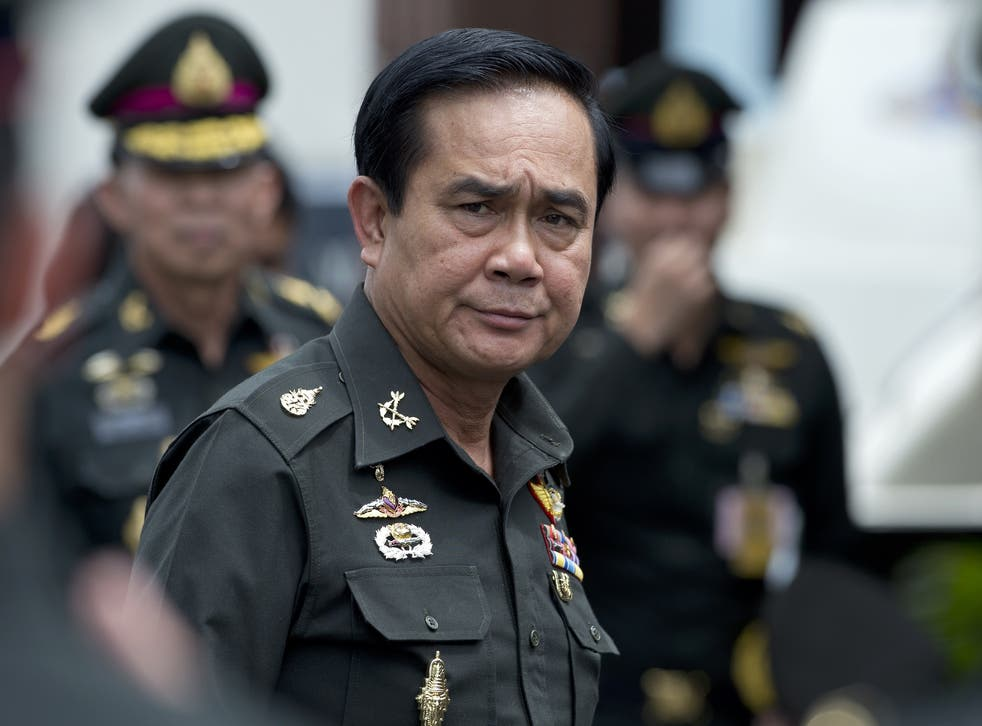 Thailand's leader has said that women tourists cannot expect to be safe in his country 'walking around in bikinis'