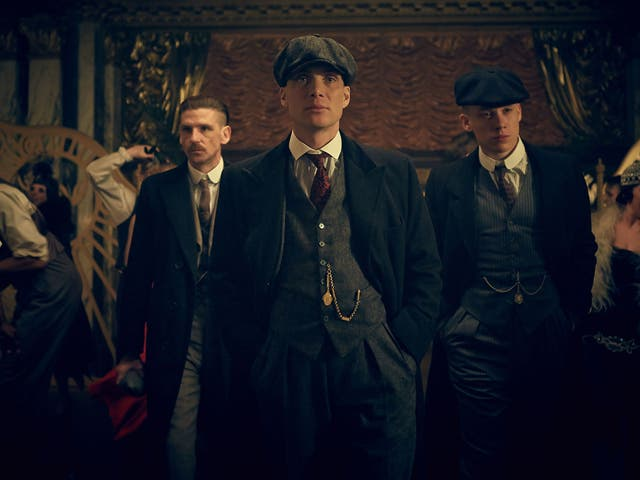 In Peaky Blinders, Tom Hardy truly found a home, slugging it out scene for scene with three of Britain's other finest screen presences