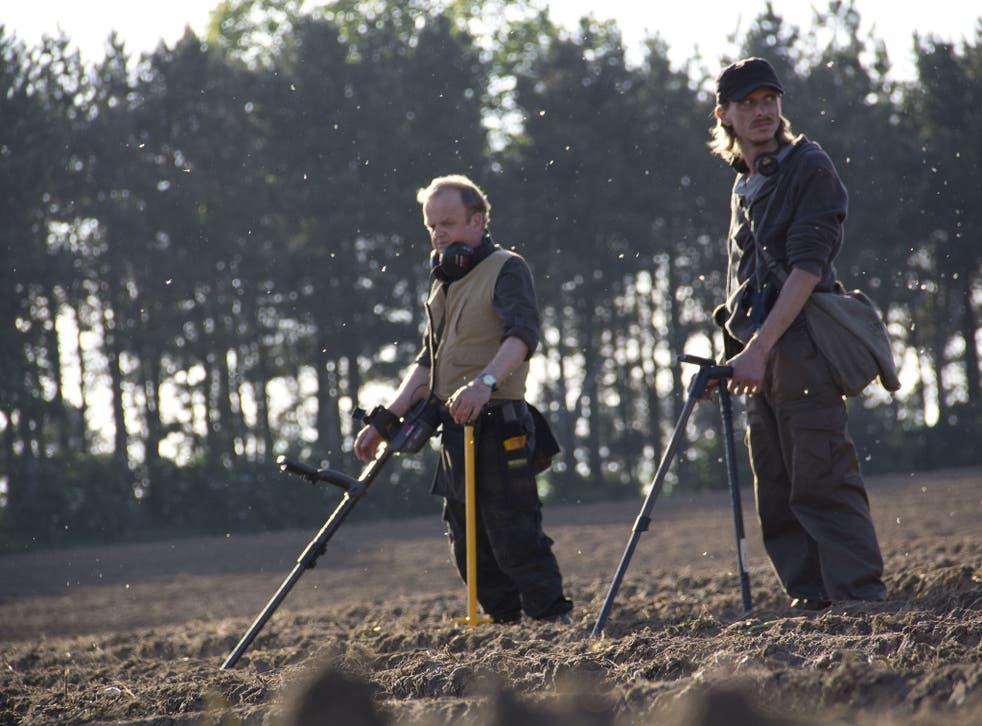 Toby Jones (left) and Mackenzie Crook in BBC4's new comedy The Detectorists