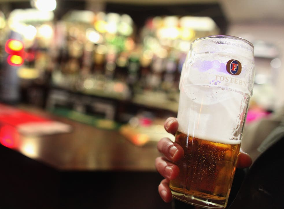 Many pubs will stay open through the night to show the results