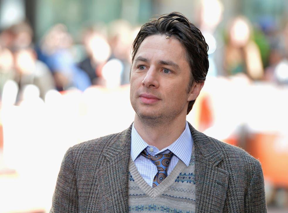 Actor and director Zach Braff