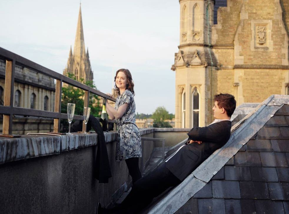 Tory story: Holliday Grainger and Max Irons in The Riot Club