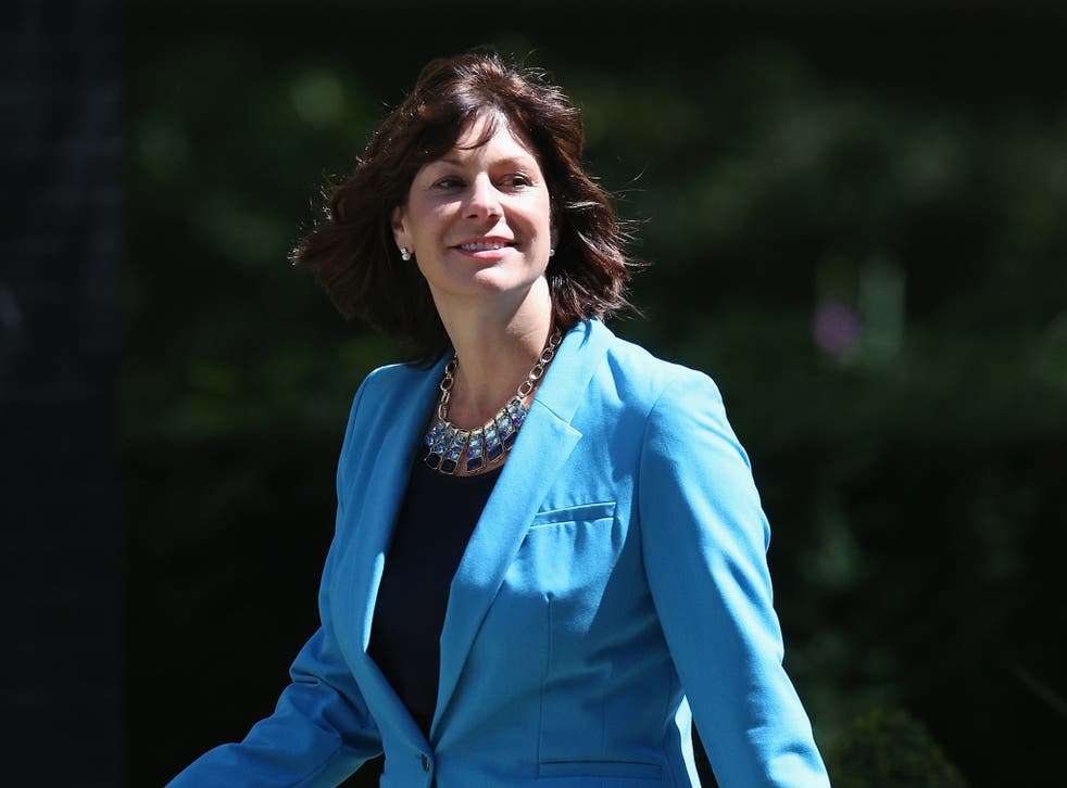 """Rail Minister Claire Perry said Scotland should not be offered """"promises of financial party bags"""""""