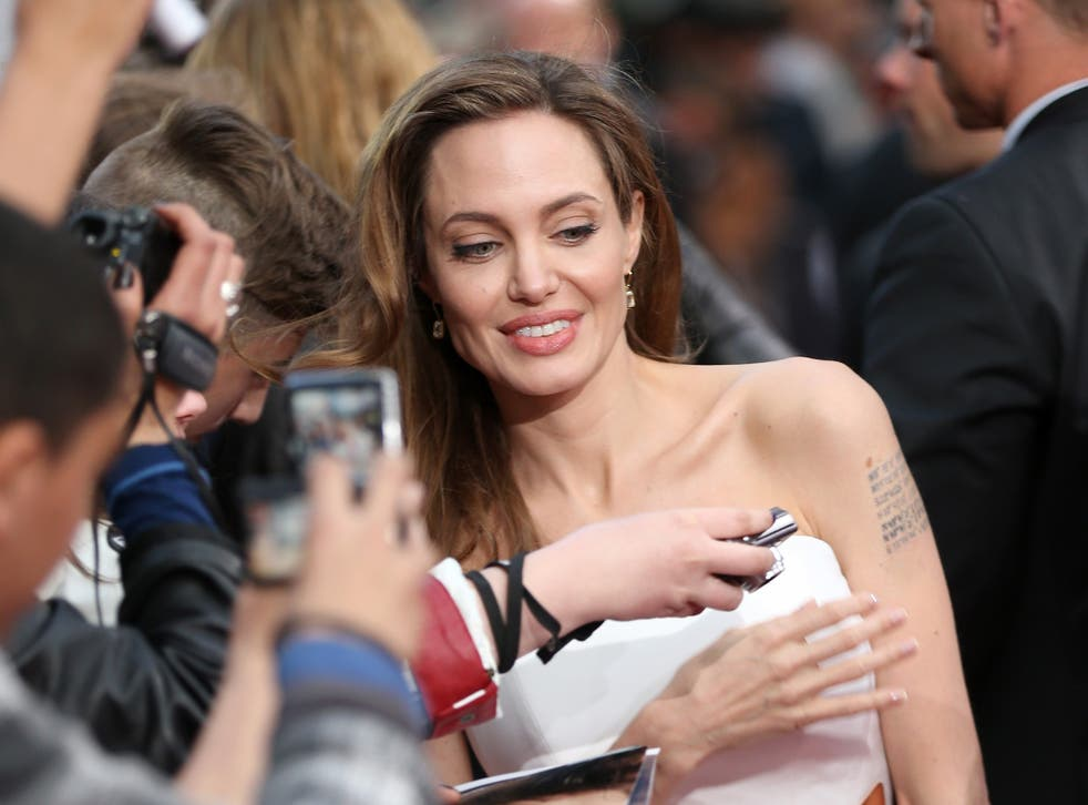 Angelina Jolie revealed in May 2013 that she had had a double mastectomy after genetic tests showed her to be at high risk of breast cancer