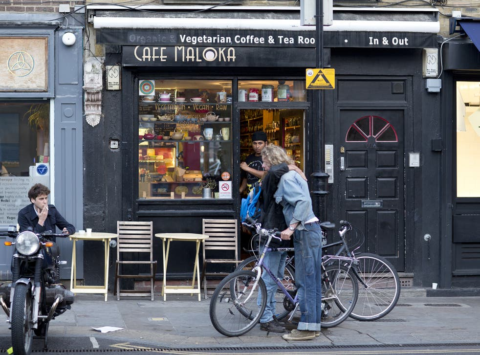 Who are you calling a hipster? Vegan cafés, bikes and turn-ups in Broadway Market, Hackney, east London