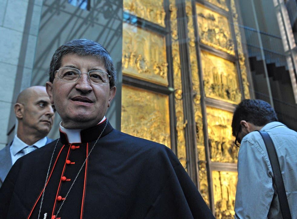 Florence's Archbishop, Cardinal Giuseppe Betori