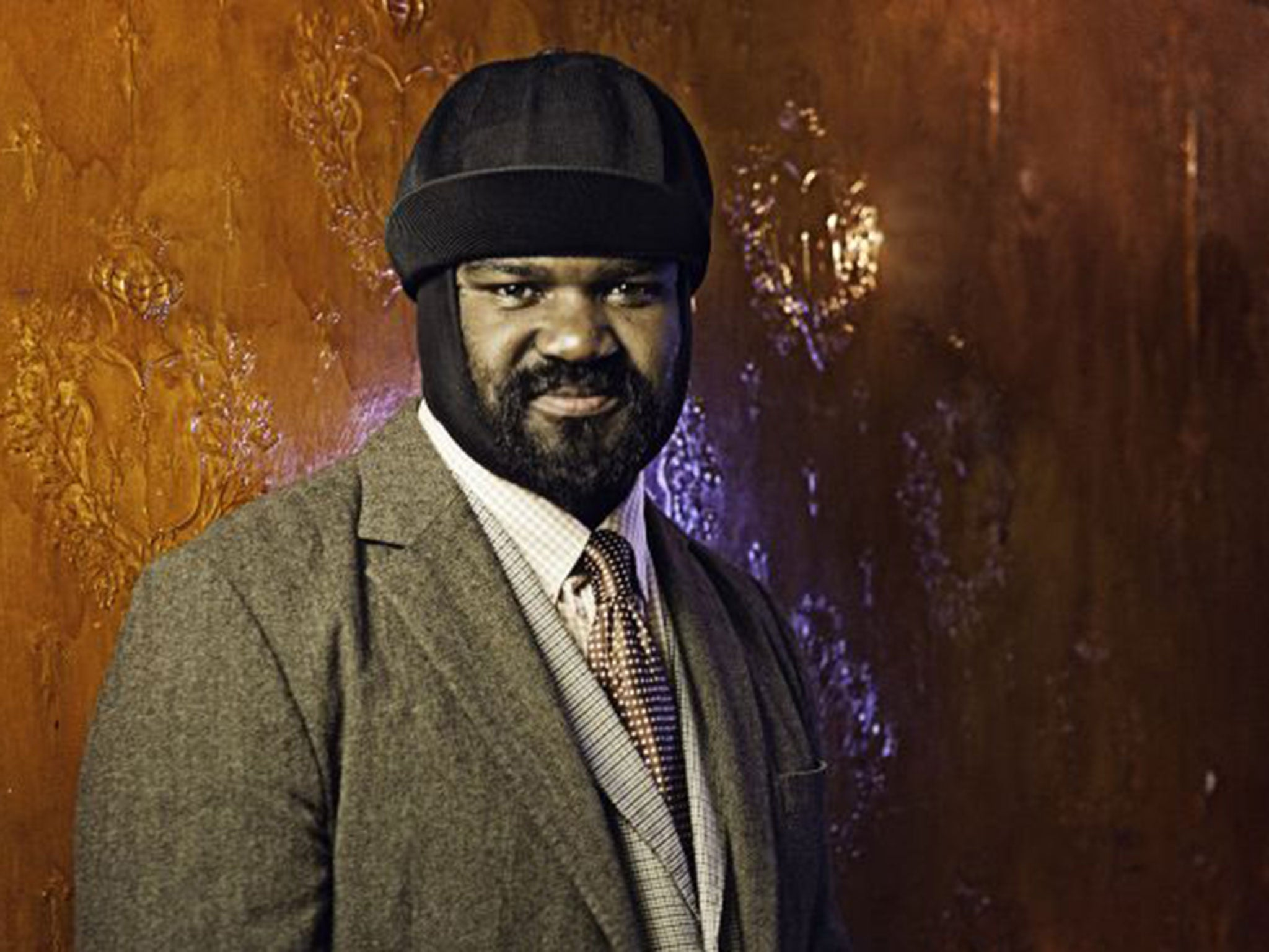Gregory porter 39 jazz got me out of the pain of losing my for Men a porter