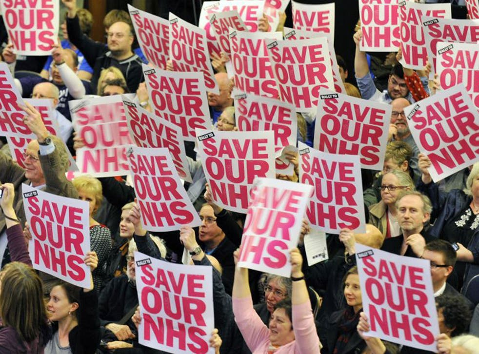 Figures released at the end of last week revealed that the NHS has worked up a £500m deficit in the first three months of this financial year