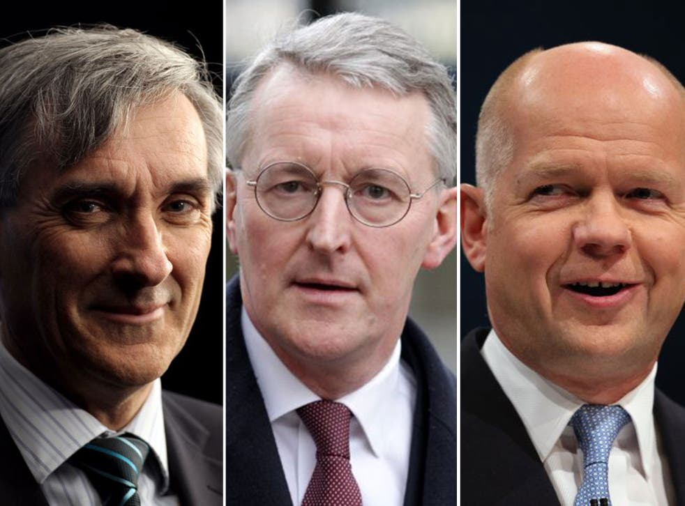 John Redwood, Hilary Benn, and William Hague all differ over what should happen next