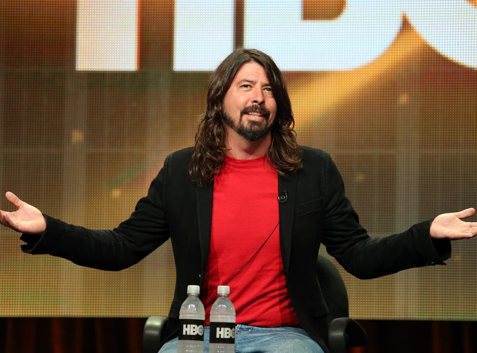 Foo Fighters lead man Dave Grohl talks about the band's forthcoming HBO documentary series