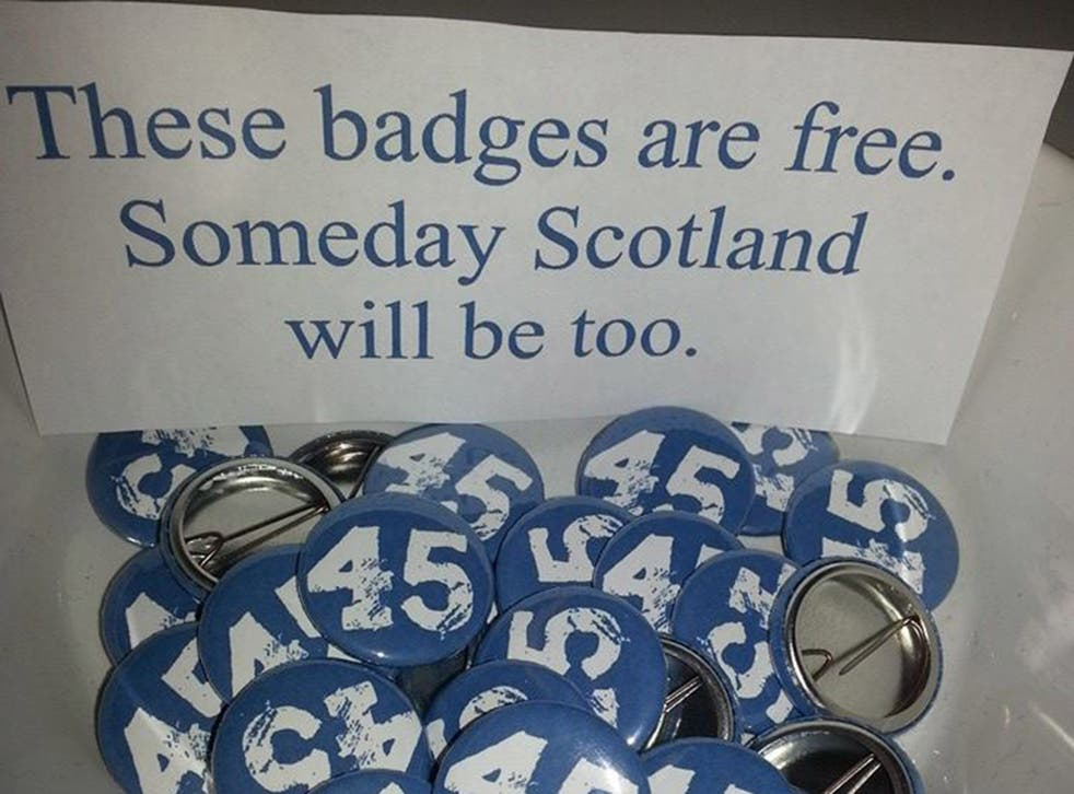 We are the 45 percent badges on offer