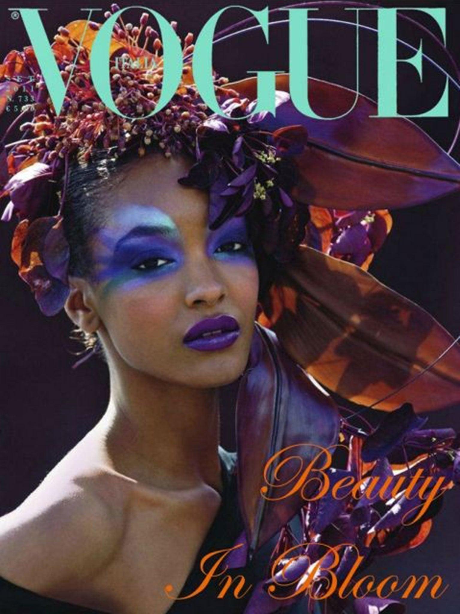375cf151d6 ... Jourdan Dunn for Burberry s ... Vogue Italia September 2011