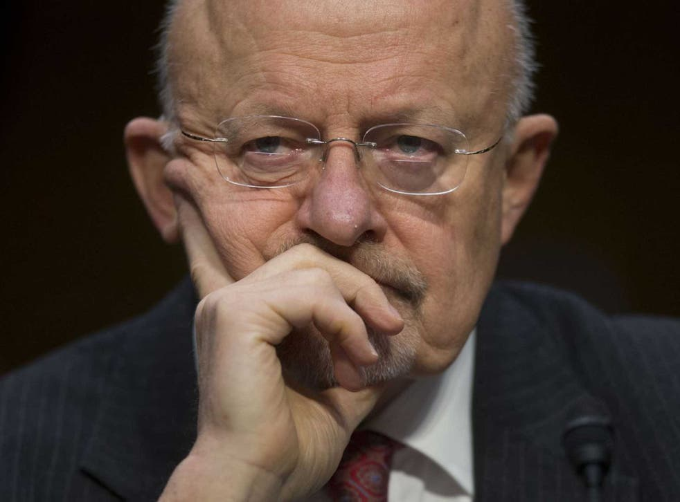 """James Clapper said he told Mr Trump the leaked private security company document was """"not a US Intelligence Community product"""", and described media reports on the allegations as 'corrosive and damaging'"""