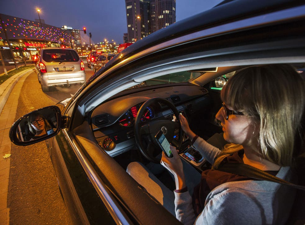 New technology could help law enforcement spot drivers texting behind the wheel.