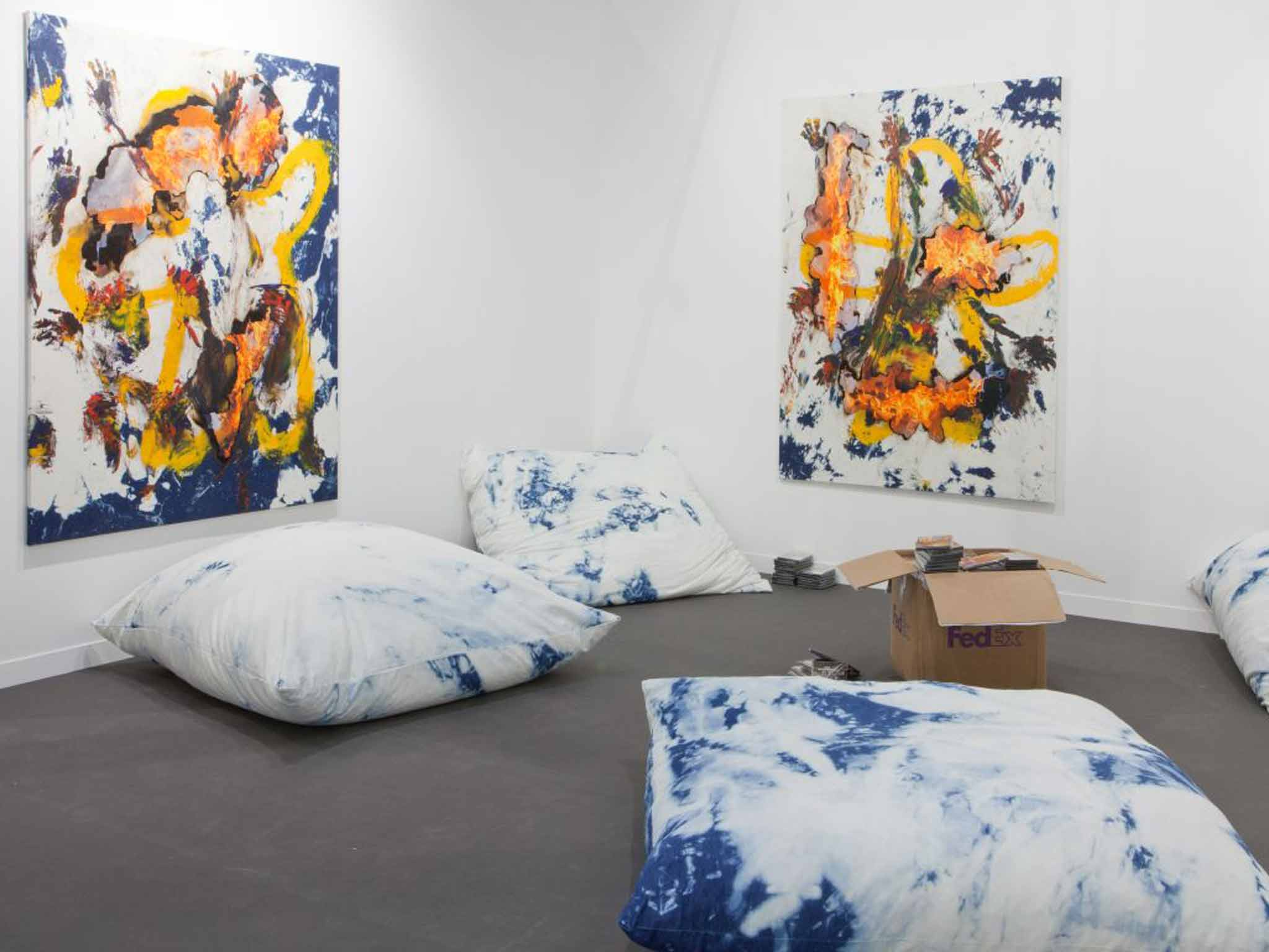 Beware Wet Paint: The ICA\'s latest ambitious exhibition | The ...