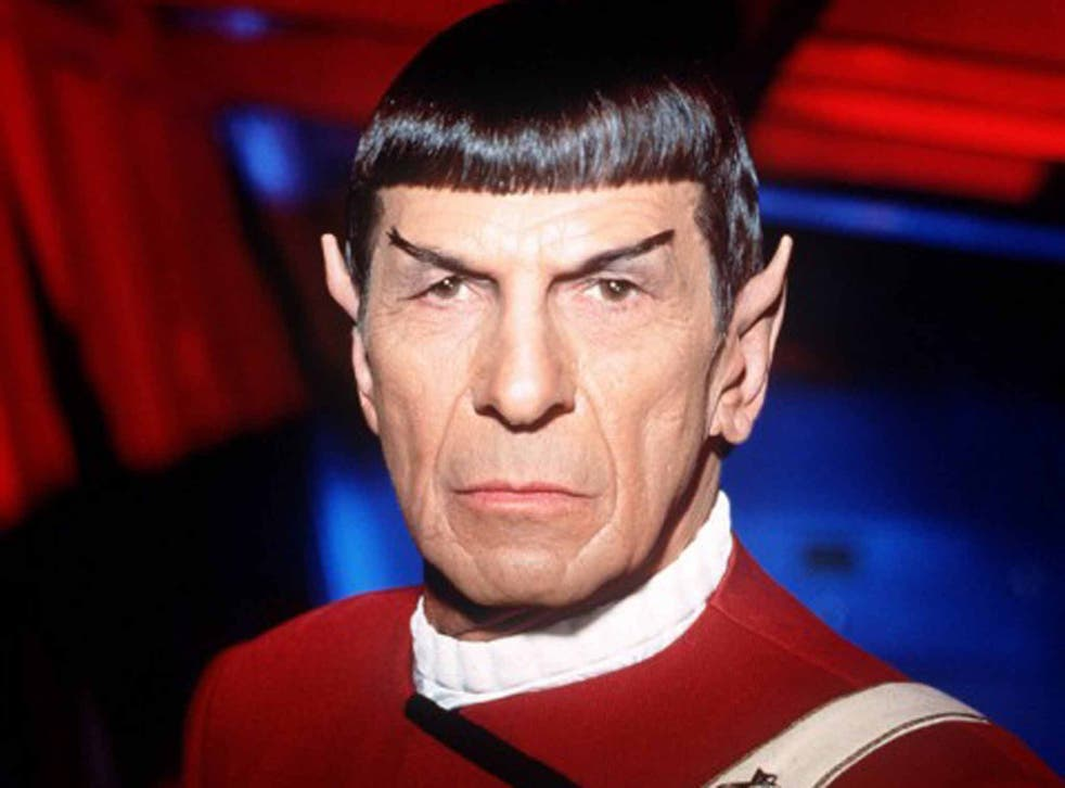 Leonard Nimoy as Mr Spock, whose expression was coveted by Alex Salmond as a young man (Paramount Pictures)