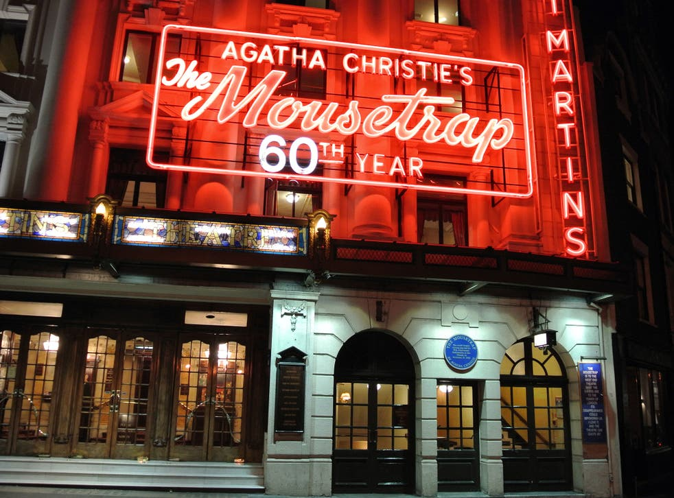 Agatha Christie's The Mousetrap is the only play written by a woman to be staged in the West End this week