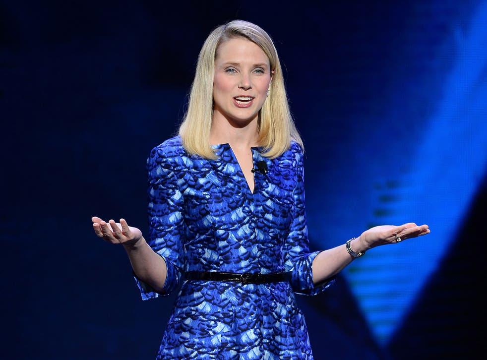 Yahoo! President and CEO Marissa Mayer