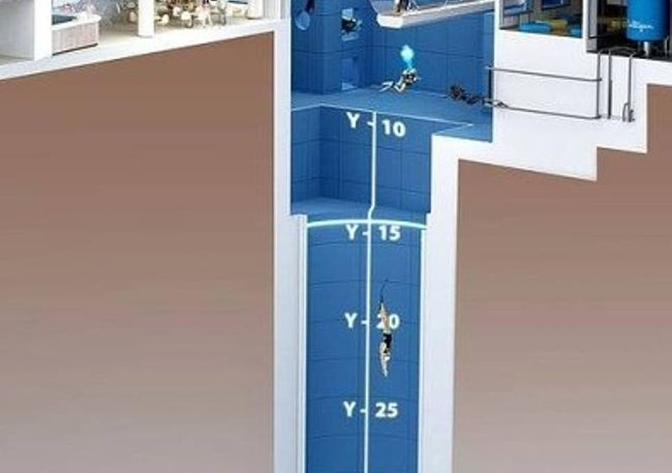 Y-40 Deep Joy: This is the world's deepest swimming pool | The