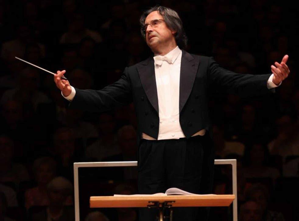 Stick with him: Riccardo Muti