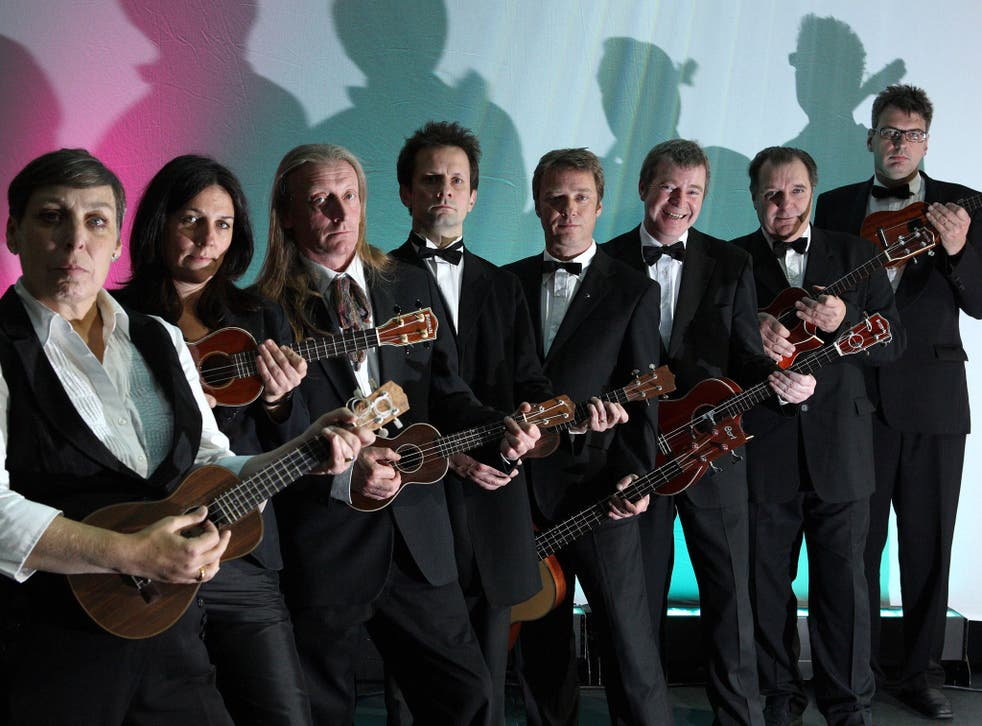 The Ukulele Orchestra of Great Britain in 2008