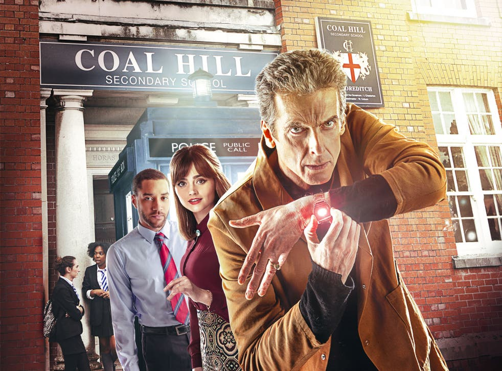 The Doctor goes undercover at Coal Hill School in 'The Caretaker'