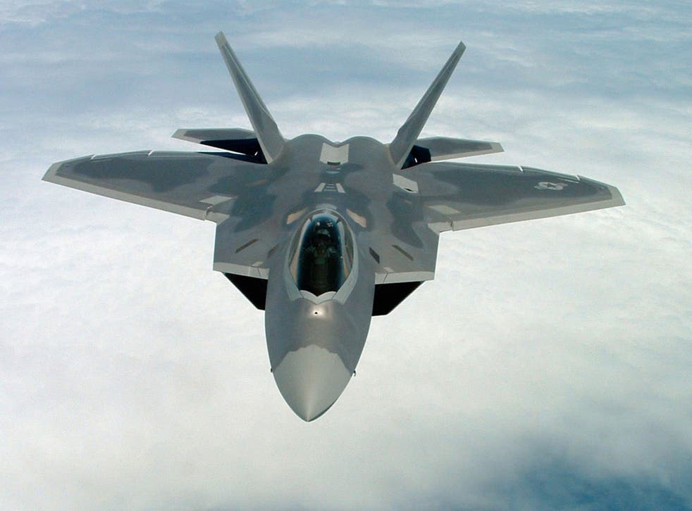 The F-22A Raptor made its combat debut with the US Air Force on Monday night during the first US air strikes against Isis (also known as Islamic State) targets in Syria